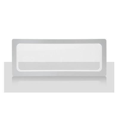 Ramka na pendrive podłużna, biała