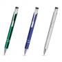 Kolorowe długopisy z logo firmy - gadżety reklamowe