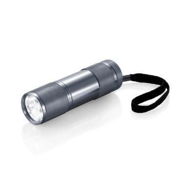 Reklamowa latarka LED z paskiem i logo