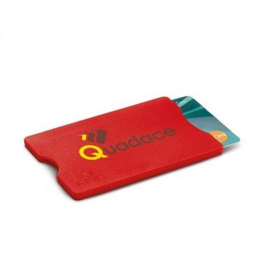Plastikowe etui ochronne na kartę płatniczą z logo